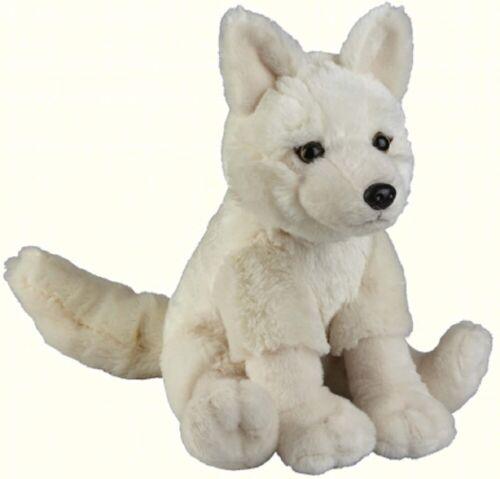 FR005AW TEDDY CUTE DOG BEAR FURRY SOFT RAVENSDEN PLUSH ARCTIC WOLF SITTING 26CM