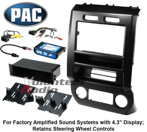 "2017 F250 with 4.3/"" Display Complete Radio Mount Kit 2015-2016 F150"