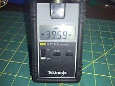 Tektronix Tek Top200 Power Meter Fiber Optics Electronics