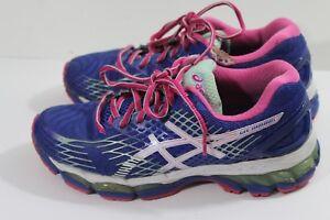 Asics Purple Gel-Nimbus Fluid-Ride Running Shoes Women s US 8 (L)  285be6fa87
