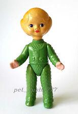 1960s-1970s USSR Russian Soviet  CELLULOID Toy Beautiful LITTLE GIRL in GREEN