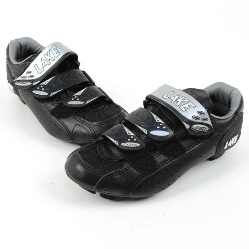 Lake CX 165W Black Road Cycling Shoes Size 38