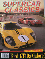 Supercar Classics 02/1991 featuring Ford GT40, Facel Vega, Bentley, Citroen, NSU