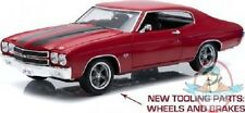 1:18 Fast & Furious (2009) 1970 Chevy Chevelle SS Red Black Greenlight
