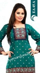 Indian-Bollywood-Kurta-Kurti-Designer-Women-Ethnic-Dress-Top-Tunic-Pakistani-xl