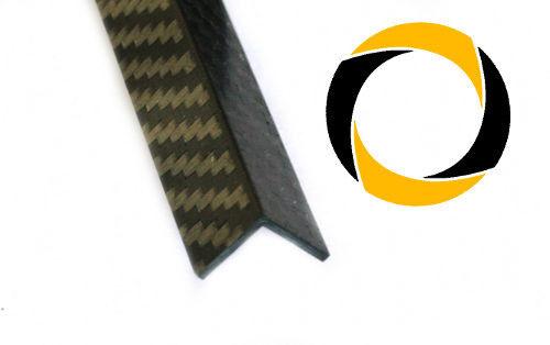 CFK angolo 1,5mm fortemente Carbonio Fibra Carbone 3k 220g//m² Köper CNC FRESATURA