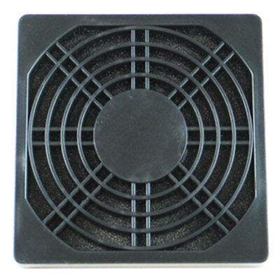 10x 120mm Black Dustproof  PC Computer Case Fan Dust Plastic Filter Cover Guard
