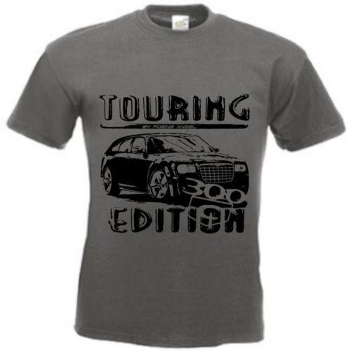 T-Shirt CHRYSLER 300C touring edition in weiß oder grau