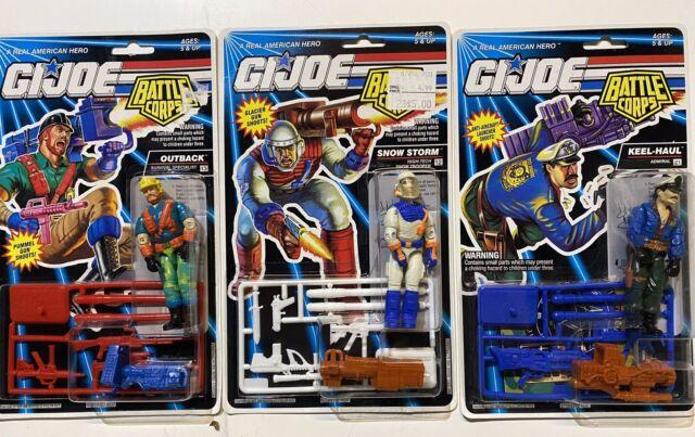 Lot of 3 1992 Hasbro G.I Joe Battle Corps Action Figures