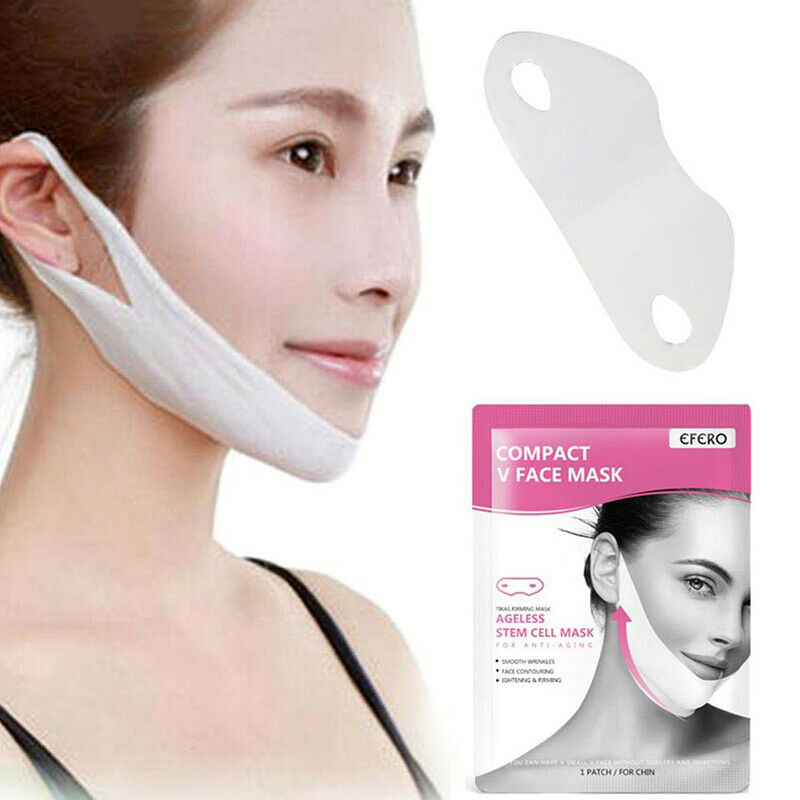 1 PC V-Shape Thin Face Mask Slimming Lifting Firming Fat