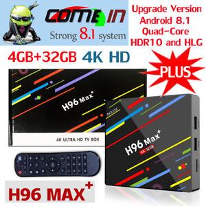NEW-H96-Max-Plus-Android-8-1-Smart-TV-Box-4GB-32GB-RK3328-4KHD-WIFI-Set-TOP-Box