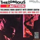 Thelonious in Action: Recorded at the Five Spot Cafe by Thelonious Monk Quartet (CD, Mar-1988, Original Jazz Classics)