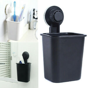 Useful-Bathroom-Toothbrush-Holder-Wall-Mount-Suction-Cup-Toothpaste-Storage-Rack