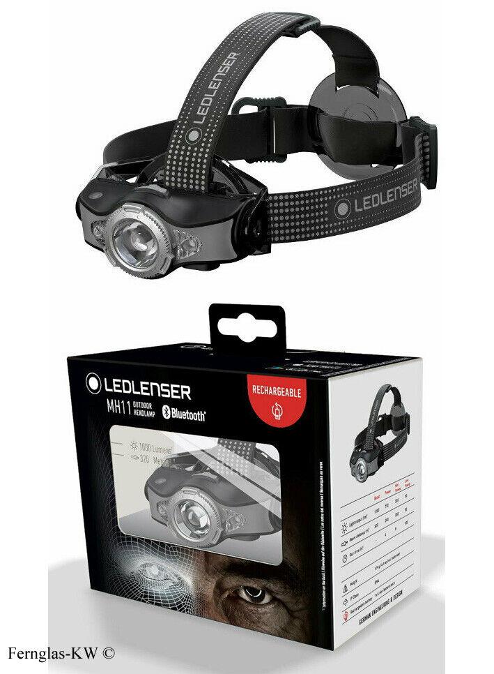 Ledlenser MH11 LED Kopflampe Stirnlampe 1000 Lumen schwarz grau 500996 Blautooth  | Einzigartig