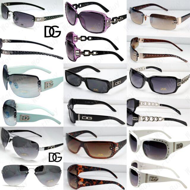 9929536d2f0a Lot 12 Random Pairs DG Sunglasses Fashion Designer Wholesale Combo Wrap  Shield