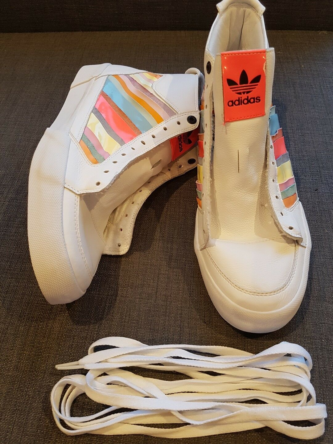 ADIDAS Superskate Consortium 026306 Rainbow Trainers Sneakers UK10 - Very Rare
