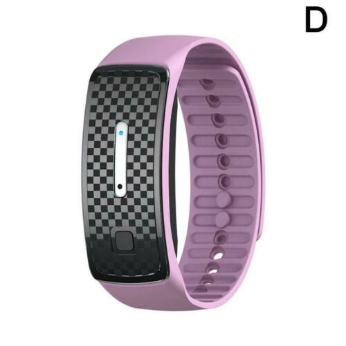 Ultrasonic Anti Mosquito Insect Pest Bug Repellent Repeller Bracelet Wrist Band