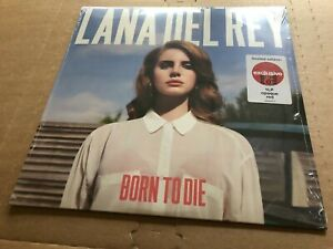 New Sealed Lana Del Rey Born To Die Red Vinyl Lp 602577673771 Ebay