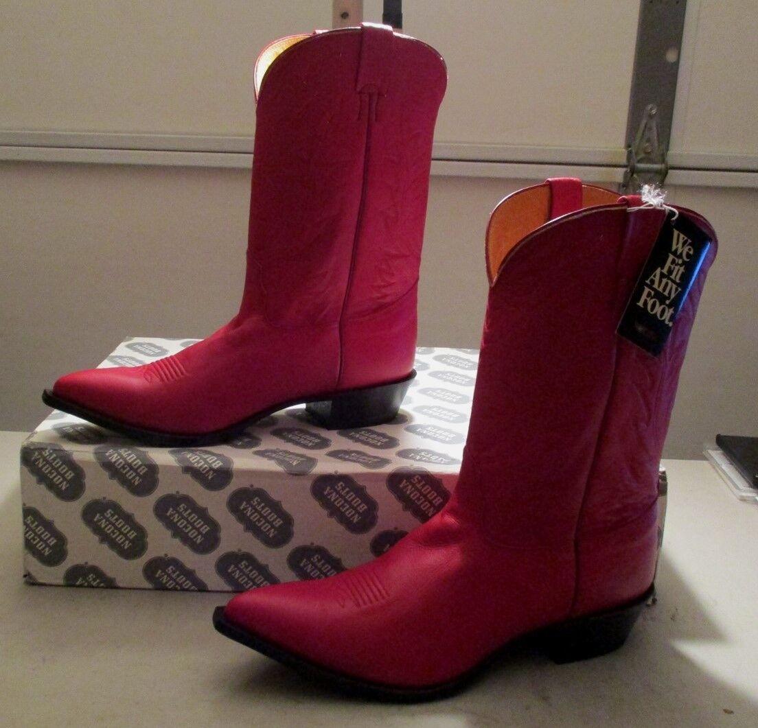 vanno a ruba New Nocona  7510-27-203 15 D rosso buckskin leather (344B) (344B) (344B)  merce di alta qualità e servizio conveniente e onesto