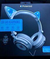 Polaroid Cat Led Headphones Very Nice