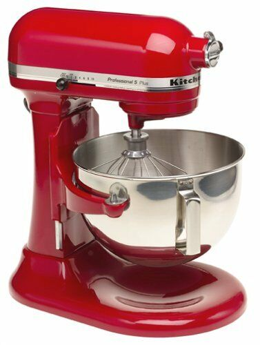 KitchenAid Pro RKG25HOXER professionnel 5-Quart stand lift mélangeur, Empire Rouge