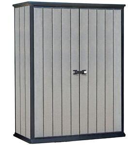 Keter High Store Garden Storage Shed - Grey