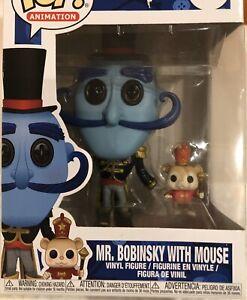 Funko Pop Movies Coraline Mr Bobinsky With Mouse Brand New In Box Ebay