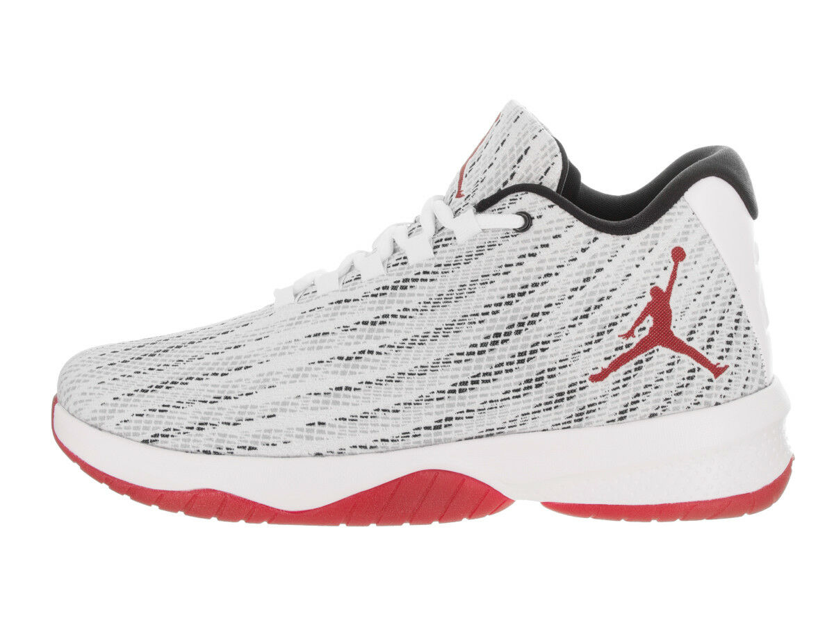 Air Jordan Men's B. FLY b Shoes White/Gym Red/Black 881444-101 b FLY 38aafd