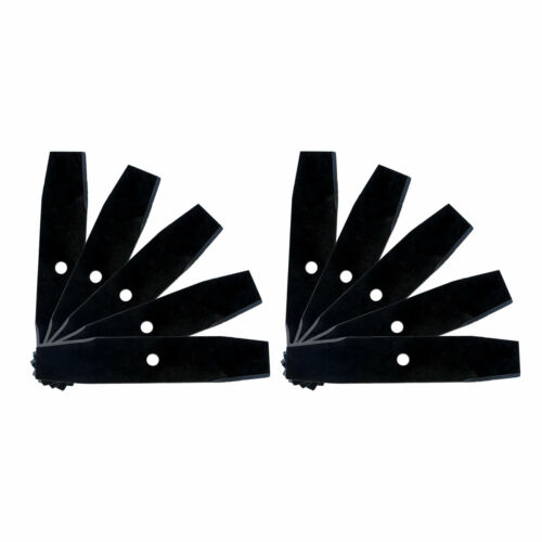 10 Edger Blades Heat Treated for Mclane Lesco Tanaka Sunbelt Stens Edgewater