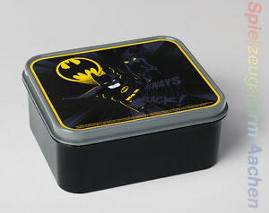 LEGO Storage The Batman Movie Brotdose Schwaz Lunch Box Black DC Comics