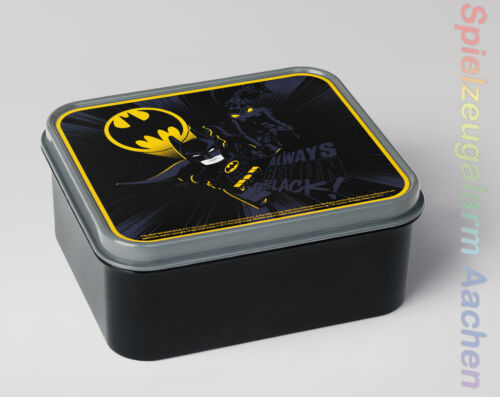 LEGO storage the Batman movie pane BARATTOLO Schwaz Lunch Box Black DC Comics