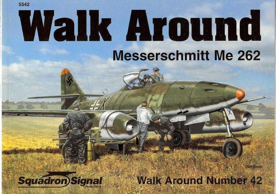 SQUADRON SIGNAL WALK AROUND N.42-MESSERSCHMITT ME 262 SCHWALBE-BY H.STAPFER