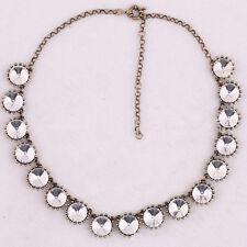 Vintage Choker 2014 New Glass Crystal Venus Flytrap Statement Bib Necklace