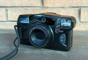 Canon Prima BF Twin 35mm Point Shoot Film Camera TESTED and working