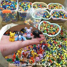 72PCS Random Pokemon Go Action Figure Pikachu Puppet Figurine Toy Kids 2-5CM