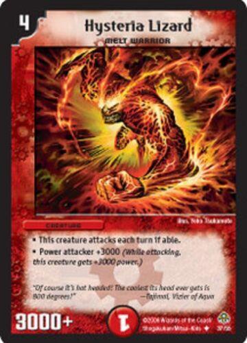 Duel Master TGC  Hysteria Lizard DM11 Blastplosion of Gigantic Rage