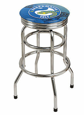 NRL Parramatta Eels Premium LICENSED BAR STOOL Great for your Pool Room Man Cave