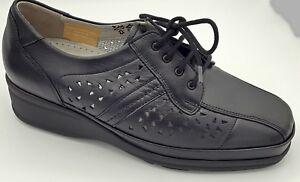 Details zu Sonderangebot Waldläufer Schuhe Weite M schwarz Schnürschuhe Neu 3890