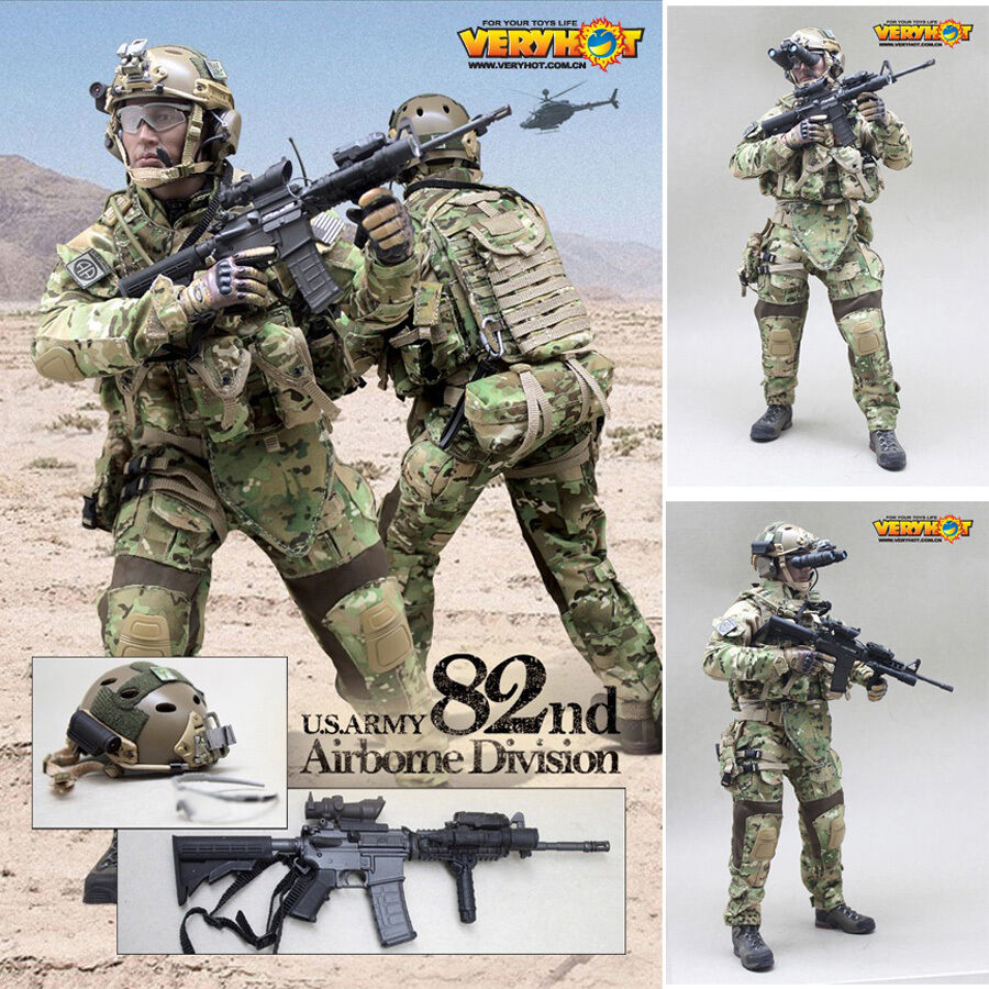 HOT FIGURE TOYS 1 6 veryhot The eighty-second airborne division of the U.S. Army
