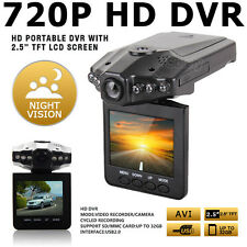 6 Led 2.5 Portable Car HD DVR Night vision car camera video recorder 32GB SD