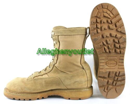 Mens US Military GORETEX ICB INFANTRY COMBAT BOOTS 790 Tan USA MADE Sz 6-14 GC