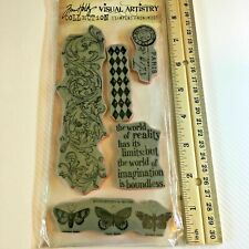 Oddities CMS 083 Tim Holtz Rubber Stamp Set