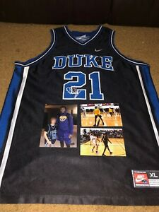 quality design fd282 57970 Details about RJ BARRETT DUKE UNIVERSITY NEW KNICKS SIGNED AUTOGRAPHED NIKE  JERSEY-PROOF COA