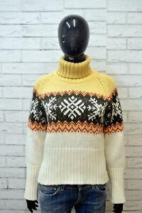 TIMBERLAND-Maglione-Donna-Taglia-M-Pullover-Felpa-Sweater-Shirt-Cardigan-Maglia