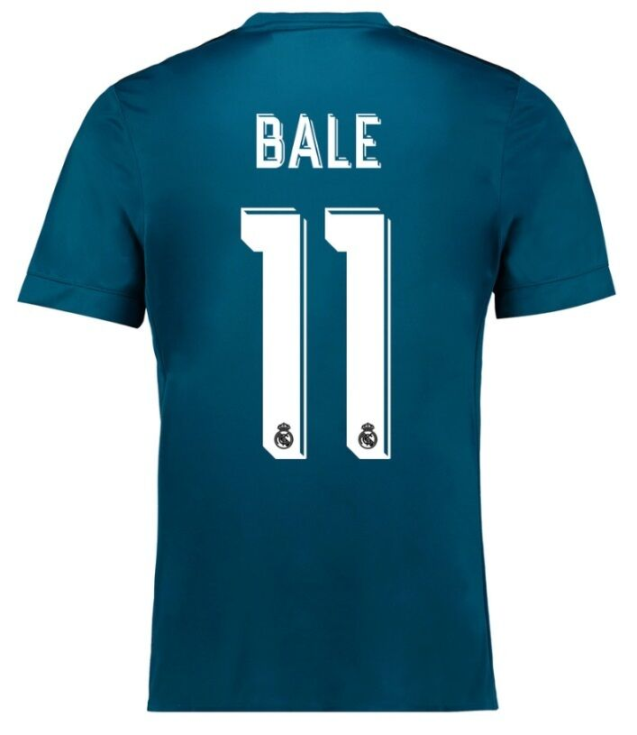Trikot Real Madrid 2017-2018 Third UCL - Bale 11   11 Champions League 5fc291