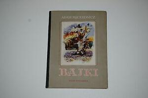 Adam Mickiewicz Bajki il L Maciąg 1958 Polish book for children - internet, Polska - Adam Mickiewicz Bajki il L Maciąg 1958 Polish book for children - internet, Polska