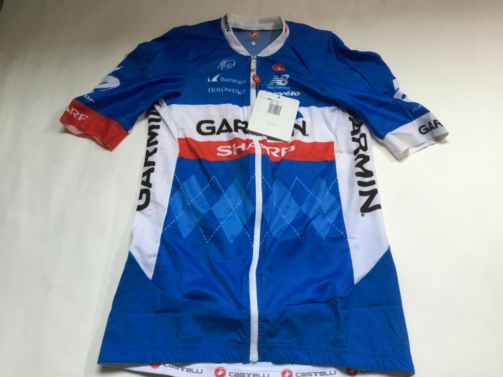 NWT Castelli  areo race 5.0  cycle jersey   racing fit  factory direct