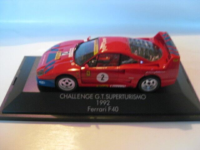 HERPA FERRARI f40 Challenge G.T. SUPERTURISMO 1992 Nr 2 1 43 Nouveau dans neuf dans sa boîte sans Ka
