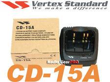 Vertex Yaesu CD-15A charger cradle VX-5R VX-6R VX-7R VXA-710 radio charge base