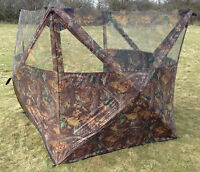 3 Sided Shooting Blind, Camo,camouflage, Hunting Hide Out,hide,3 Man Tent 105059